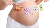 zwangere buik